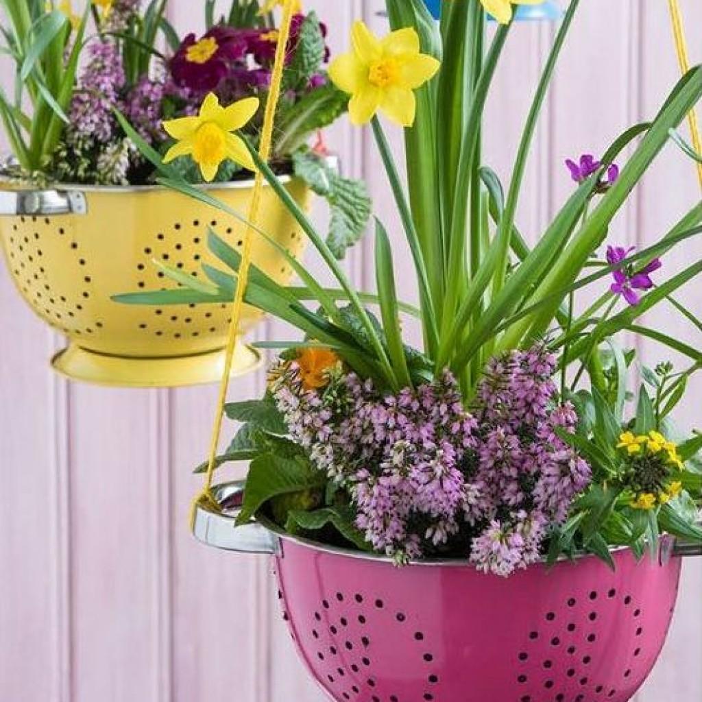 Дренаж для цветов из подручных